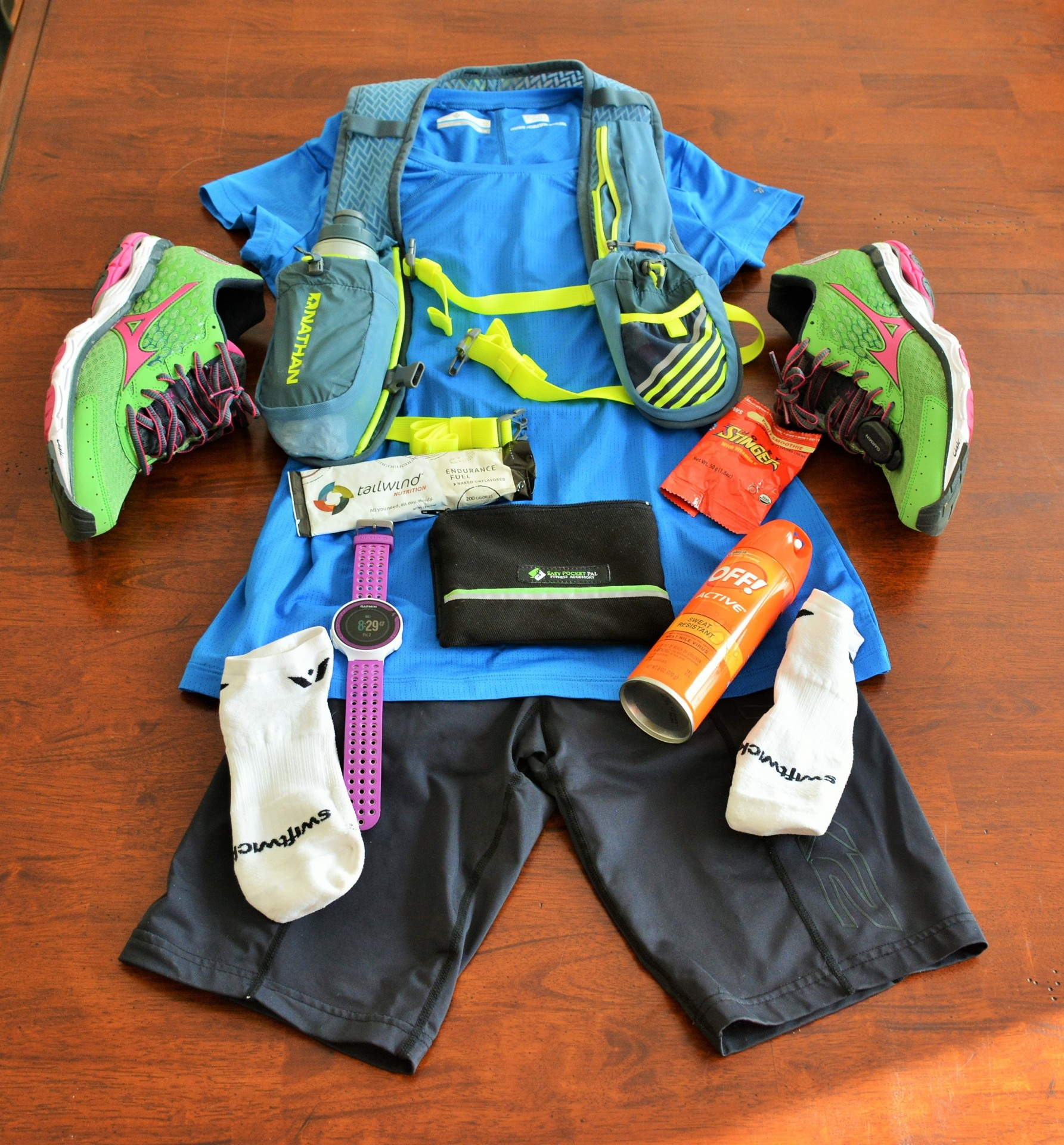 Recommended Gear-Race Day Ready
